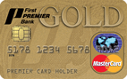 First PREMIER® Bank Gold Credit Card