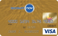 AccountNow® Gold Visa® Prepaid Card - Credit Card