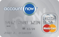 AccountNow Prepaid Mastercard - Credit Card