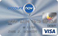 AccountNow® Prepaid Visa® Card - Credit Card
