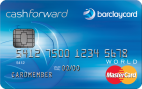 Barclaycard CashForward™ World MasterCard® - Credit Card