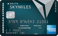 Delta Reserve for Business Credit Card - Credit Card