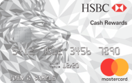 HSBC Cash Rewards Mastercard credit card - Credit Card
