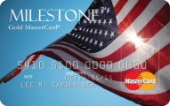 Milestone® Unsecured MasterCard® - Credit Card