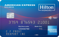 The Hilton Honors American Express Business Card - Credit Card
