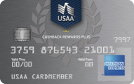USAA Cashback Rewards Plus American Express Card - Credit Card