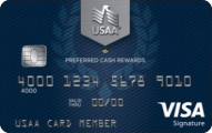 USAA Preferred Cash Rewards Visa Signature Card - Credit Card