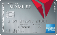 Platinum Delta SkyMiles Business Credit Card from American Express - Credit Card