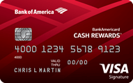 BankAmericard Cash Rewards™ Credit Card - Credit Card
