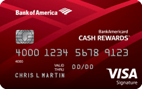 BankAmericard Cash Rewards™ Credit Card