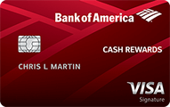Bank of America Cash Rewards Credit Card - Credit Card