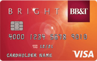 BB&T Bright credit card - Credit Card