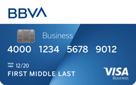 BBVA Visa Business Rewards Credit Card - Credit Card