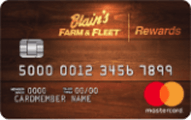 Blain's Farm & Fleet Rewards Mastercard®