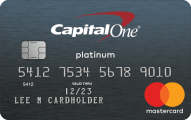 Capital One Platinum Credit Card - Credit Card