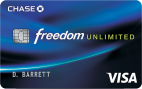 Chase Freedom Unlimited℠ - Credit Card