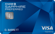Chase Sapphire Preferred Card - Credit Card