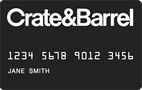 Crate And Barrel Credit Card - Credit Card
