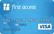 The First Access Visa® Credit Card