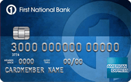 First National Bank American Express Card - Credit Card
