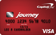 Journey<sup>SM</sup> Student Rewards from Capital One - Credit Card