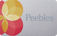 Peebles Credit Card - Credit Card