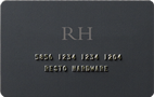 Restoration Hardware Credit Card - Credit Card