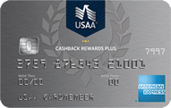 USAA® Cashback Rewards Plus American Express® Card - Credit Card