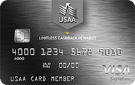 USAA Limitless™ Cashback Rewards Visa Signature® Card