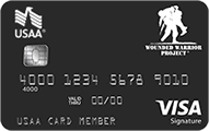 Wounded Warrior Project USAA Rewards™ Visa Signature Card - Credit Card