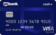 "U.S. Bank Cash+â""¢ Visa SignatureÃ'® Card"