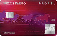 Wells Fargo Propel American Express Card - Credit Card