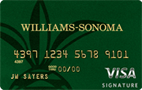 Williams-Sonoma Visa� Signature Card - Credit Card