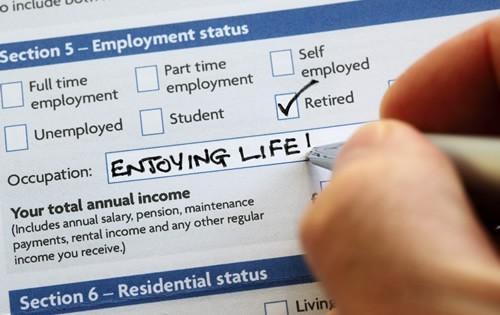 retirement-status-application